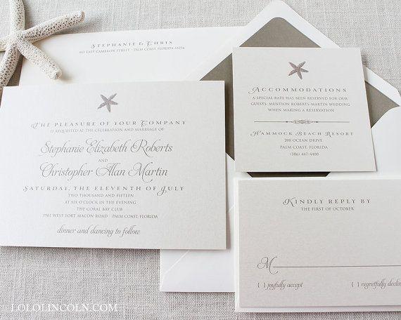 Hey, I found this really awesome Etsy listing at https://www.etsy.com/listing/119960786/starfish-wedding-invitation-deposit-to