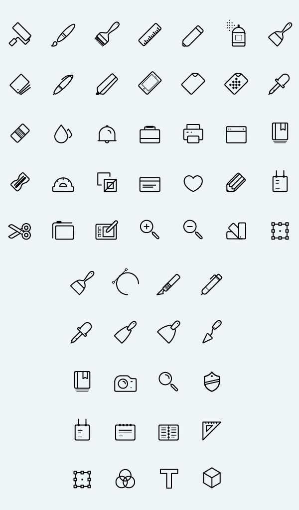 free line vector art icons  50 icons   freeicons