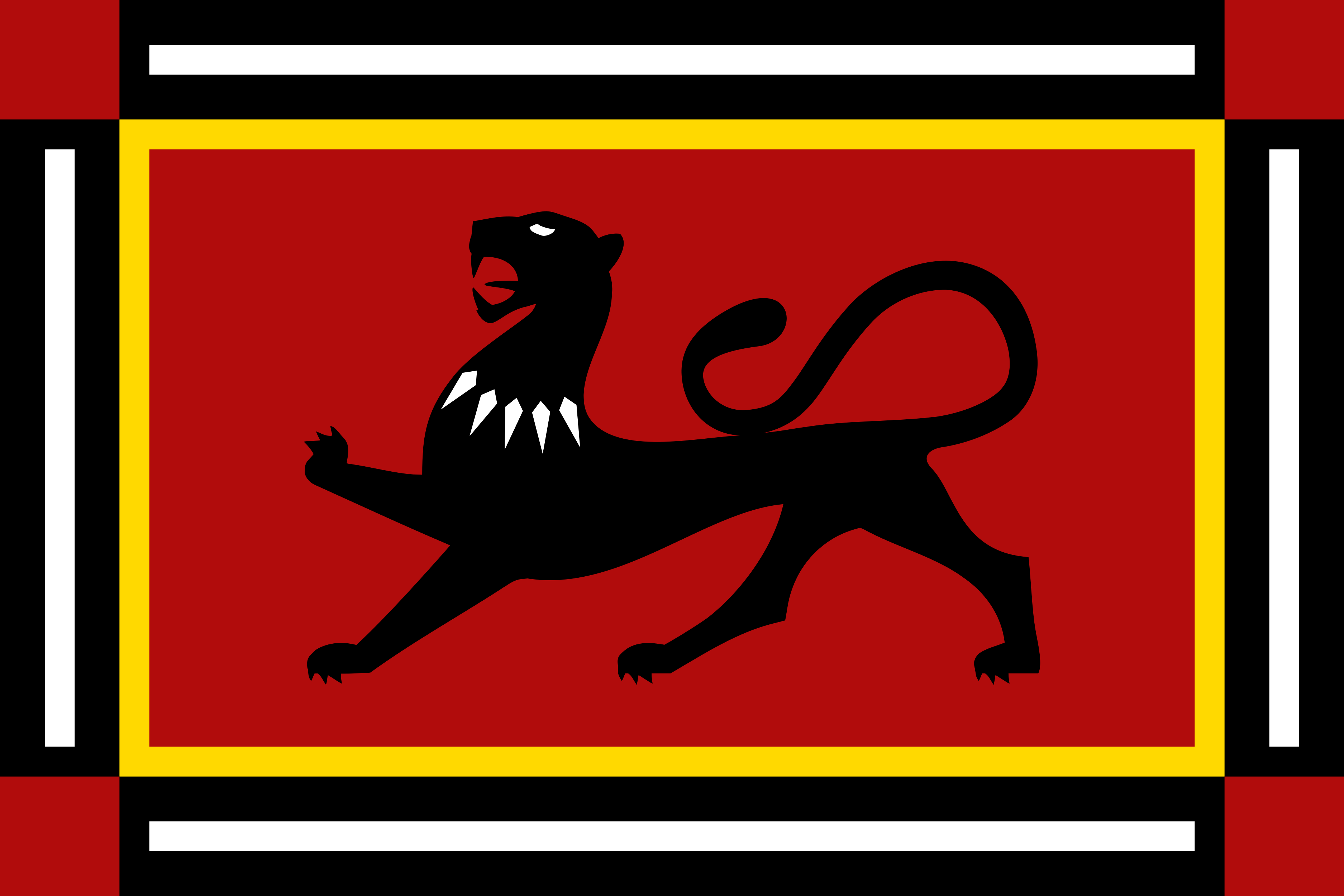 A new more traditional flag for Wakanda in the MCU