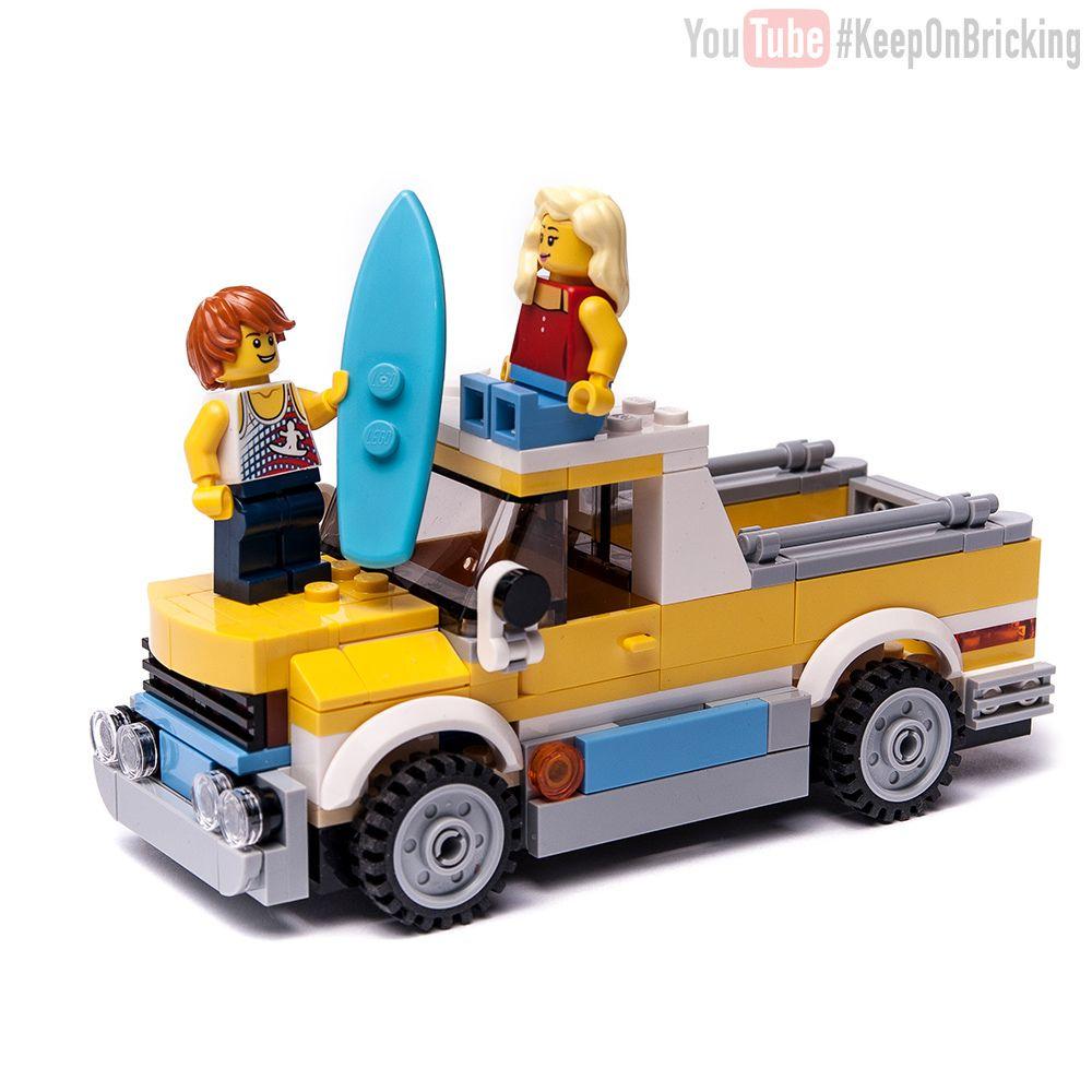 Creator 31079 Surf Van Alternate Lego Vehicles Lego Lego