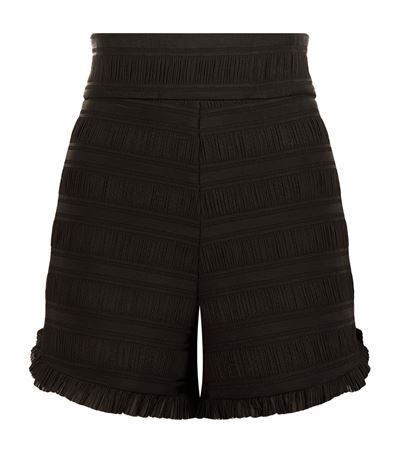 MAJE Ingrid High Waist Shorts. #maje #cloth #