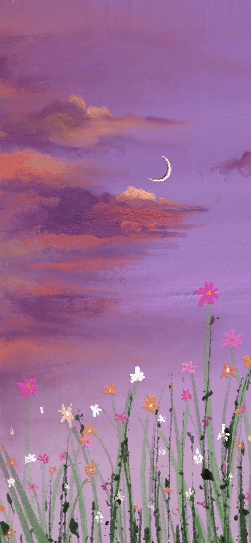 weibo 是大魔王哦 di 2020 Latar belakang, Lukisan bunga