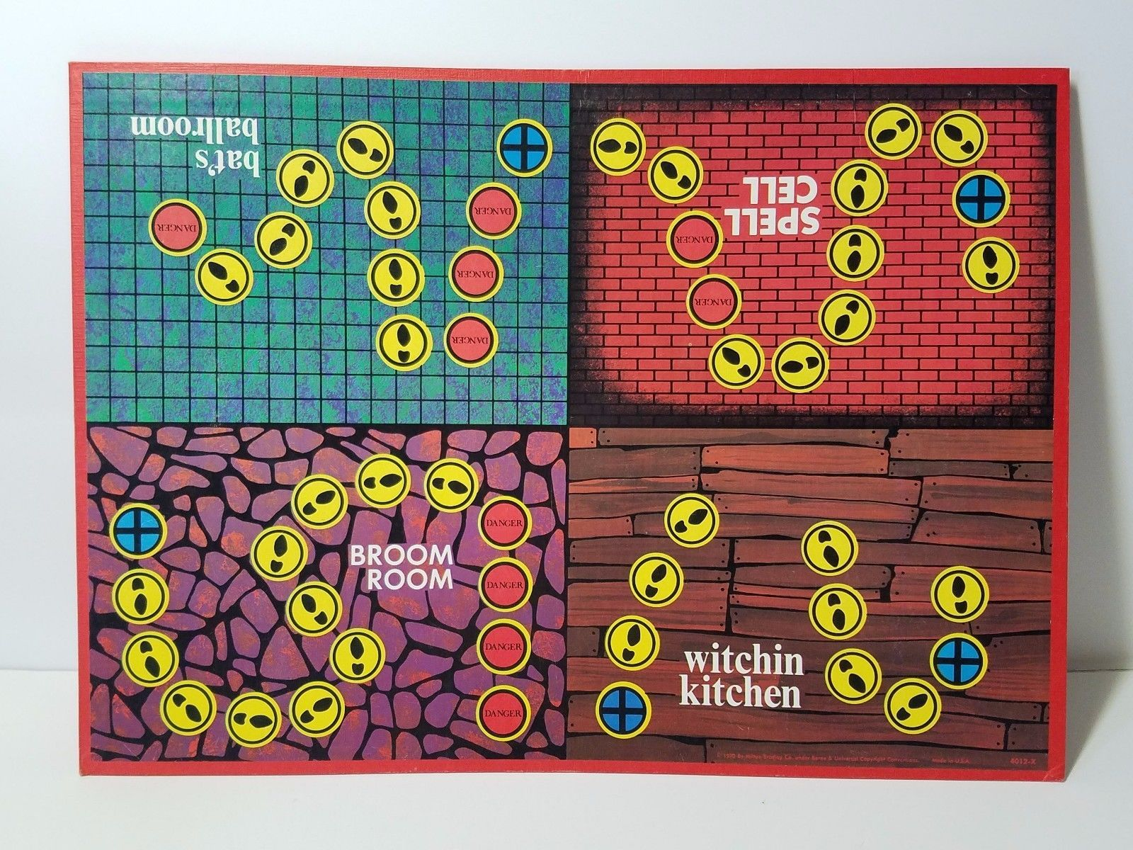 Vintage Milton Bradley Which Witch Board Game Complete 1971 Halloween 3D #4012 in Toys & Hobbies, Games, Board & Traditional Games, Vintage Manufacture | eBay