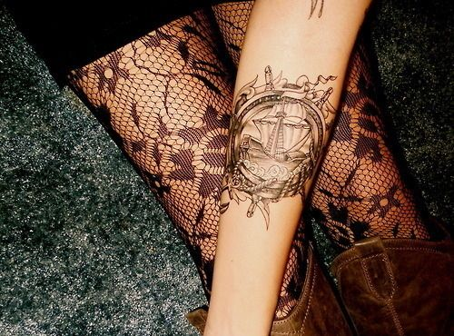 Everything About This High Seas Tattoo Lace Vintage All Would