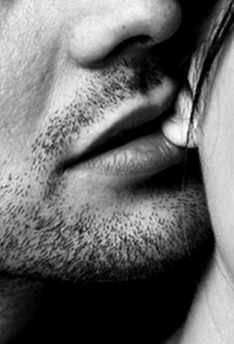 How to kiss his neck and ear