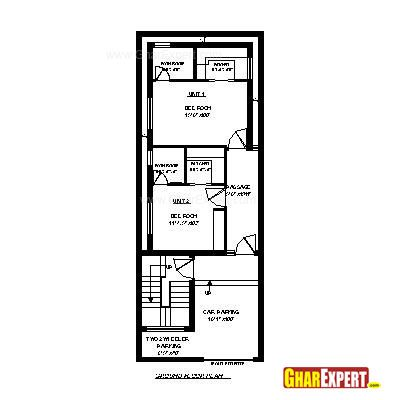 Architectural Plans Naksha Commercial And Residential Project Gharexpert Com 20x40 House Plans My House Plans House Map