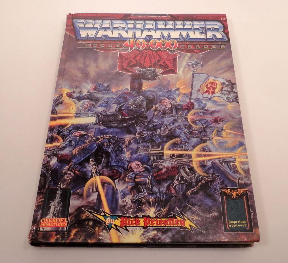 Warhammer 40,000 ROGUE TRADER Hardcover Book Miniatures