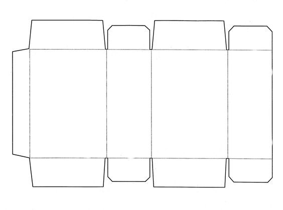 Cut out for rectangle | Graphic Design | Pinterest | Template and Crafts
