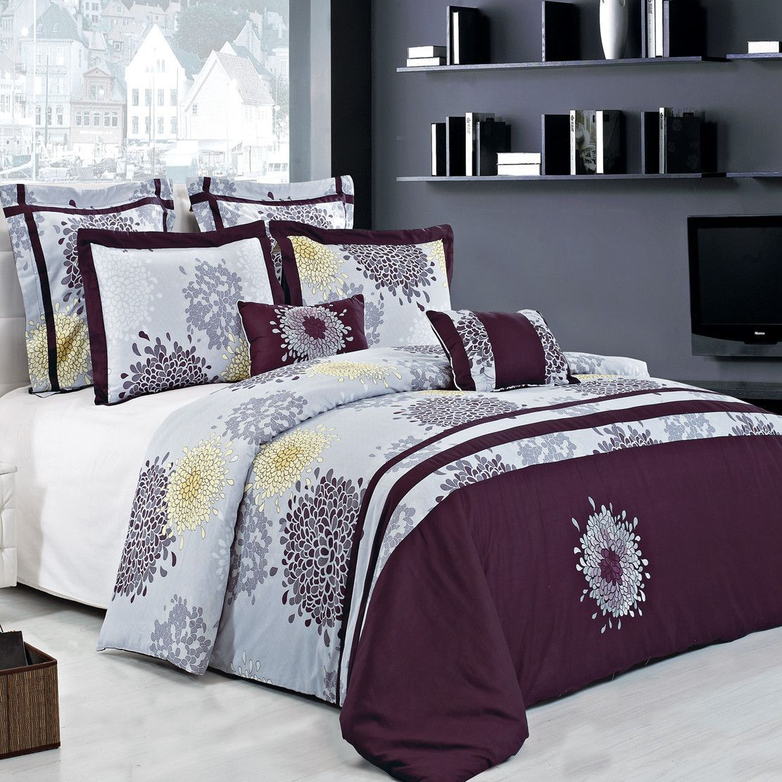 The Fifi Lilac And Plum By Royal Hotel Collection Is A