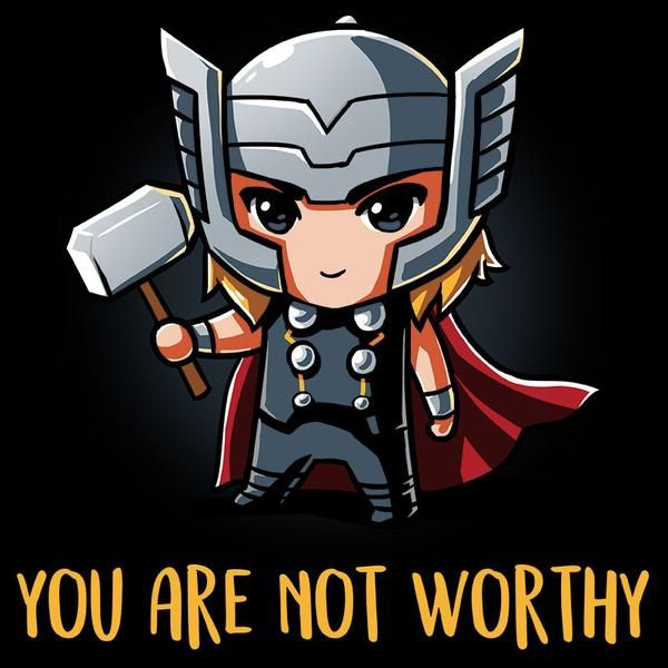You Are Not Worthy Baby Avengers Baby Marvel Avengers Cartoon