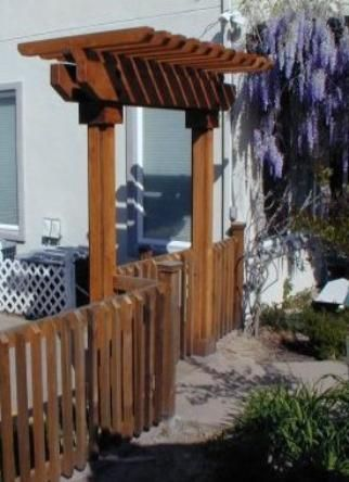 Fjc Fencing And Contracting Arbors Pergolas And Patio