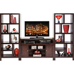 picture of Ryder 3 Pc Open Pier Wall Unit  from Wall Units Furniture