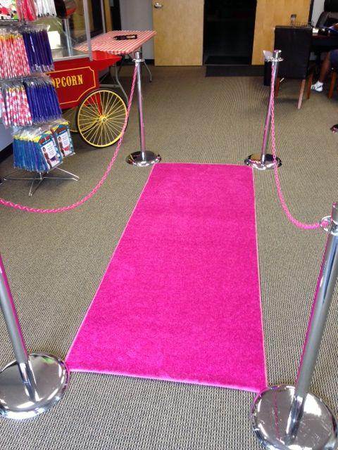 Hot Pink Carpet Runner Rental Atlanta On Pinterest