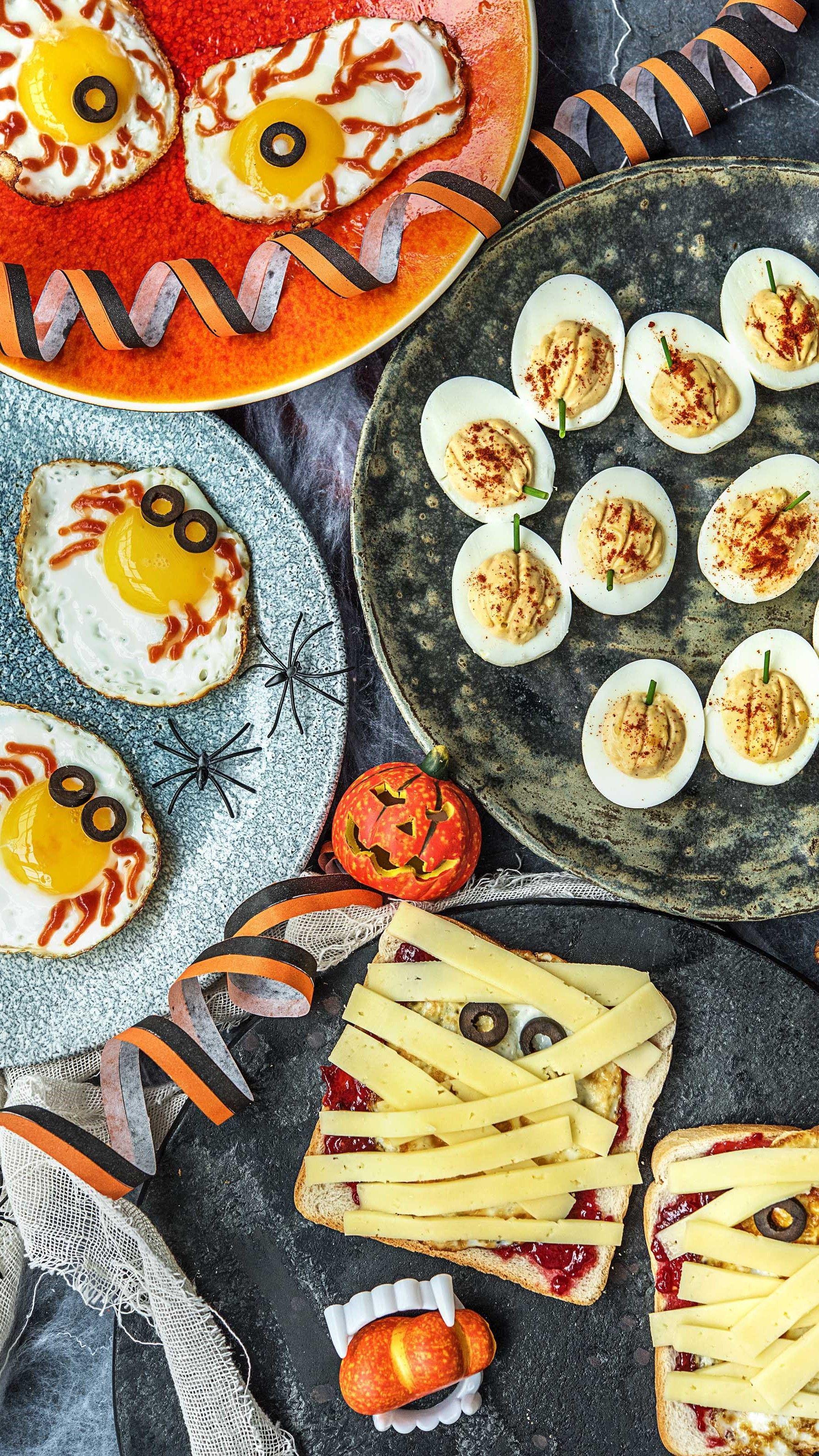Halloween Snacks zum Fürchten Rezepte, Gesunde snacks