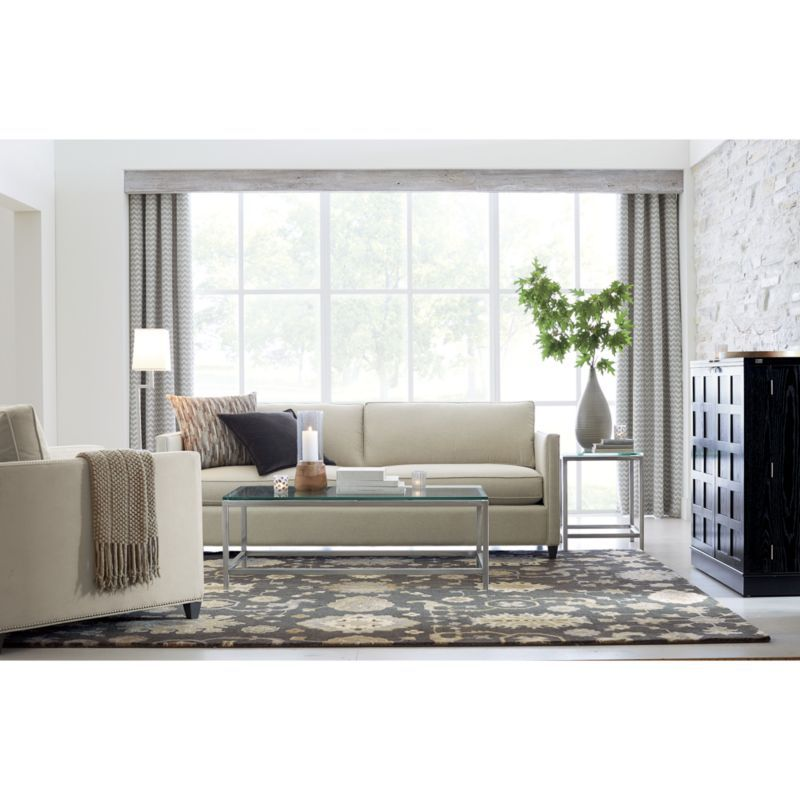 Era Rectangular Glass Coffee Table | Crate And Barrel