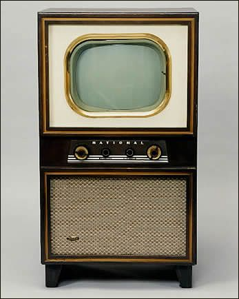 Old television set pictures