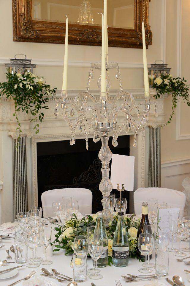 Wedding breakfast at Goldsborough Hall. Image by Mark Oglesby