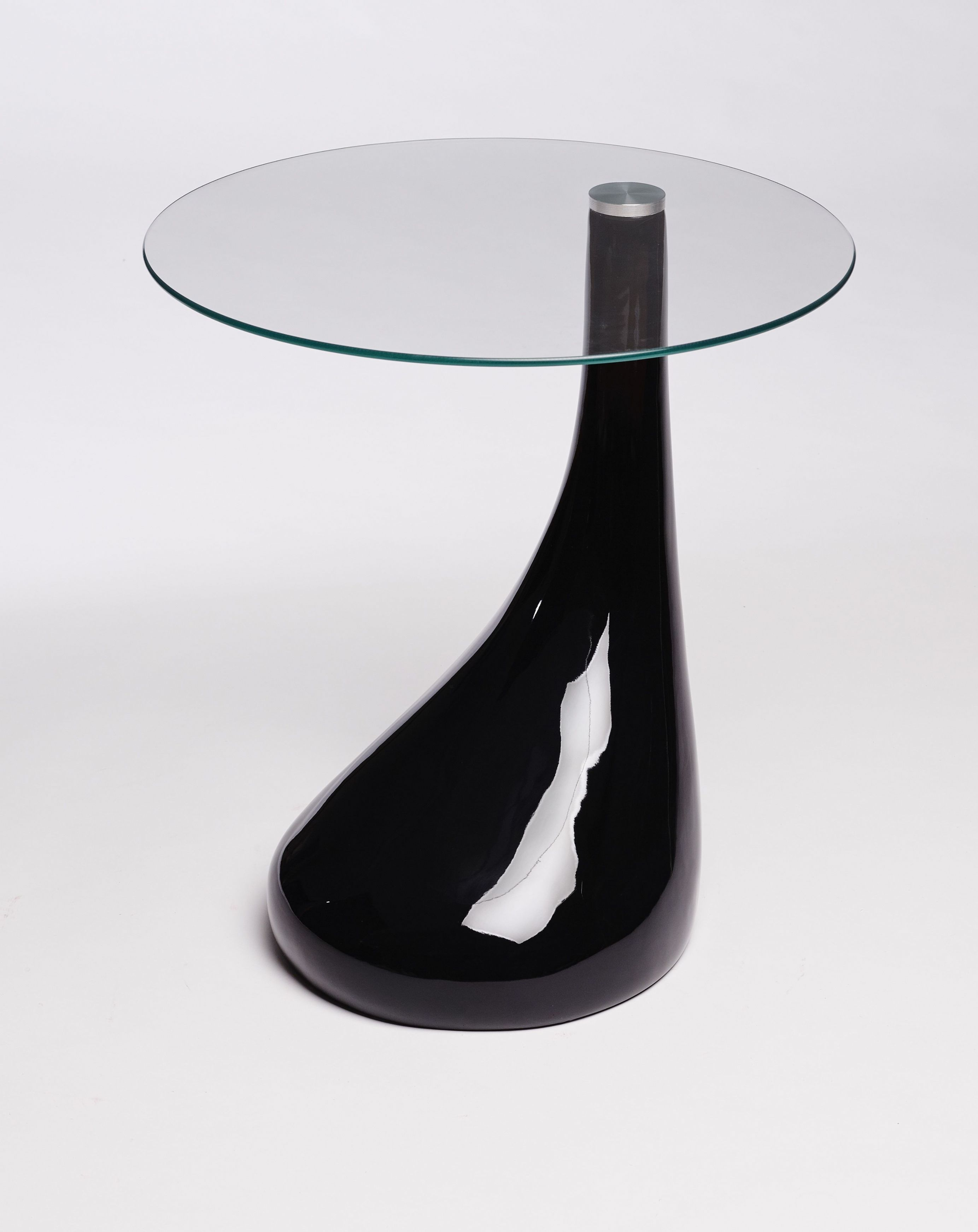 Charmant Black Side Table With Glass Top #moderndesign Modern Side Table  #blackdesign Black Side Table