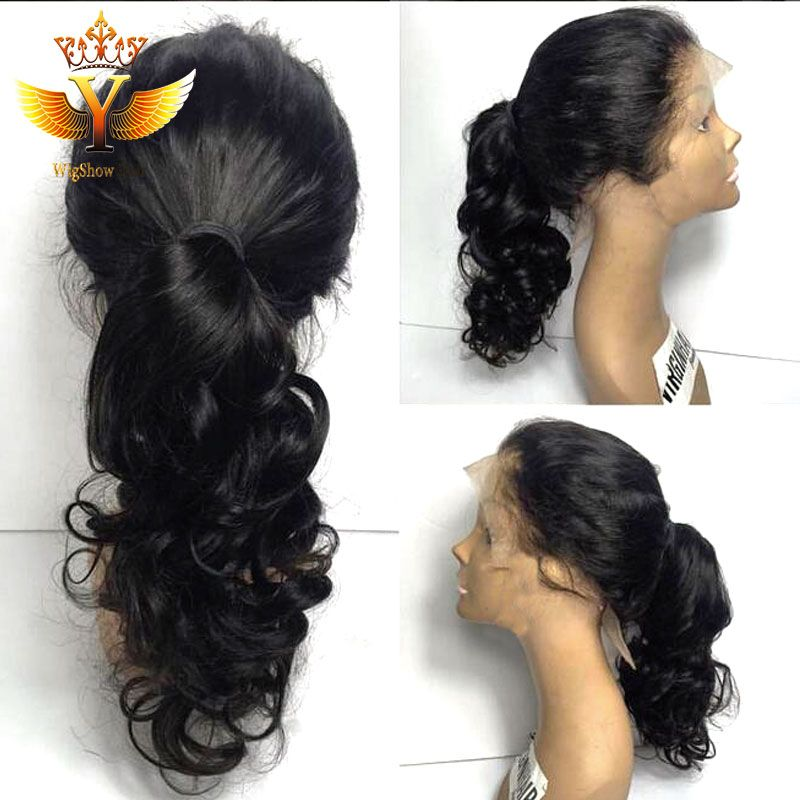 ponytail wigs | cheap lace front human hair