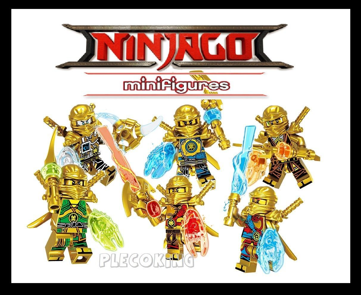 Ninjago Legendary Gold Lloyd Hands Of Time Mini Figure Fits Lego L3 Ebay Lego Custom Minifigures Ninjago Lego