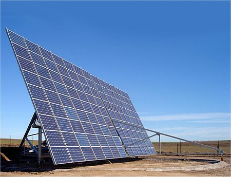 Seguidor solar - Wikipedia, la enciclopedia libre