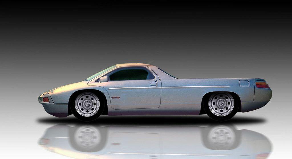 Porsche 928 Pickup Porsche 928 Porsche Futuristic Cars