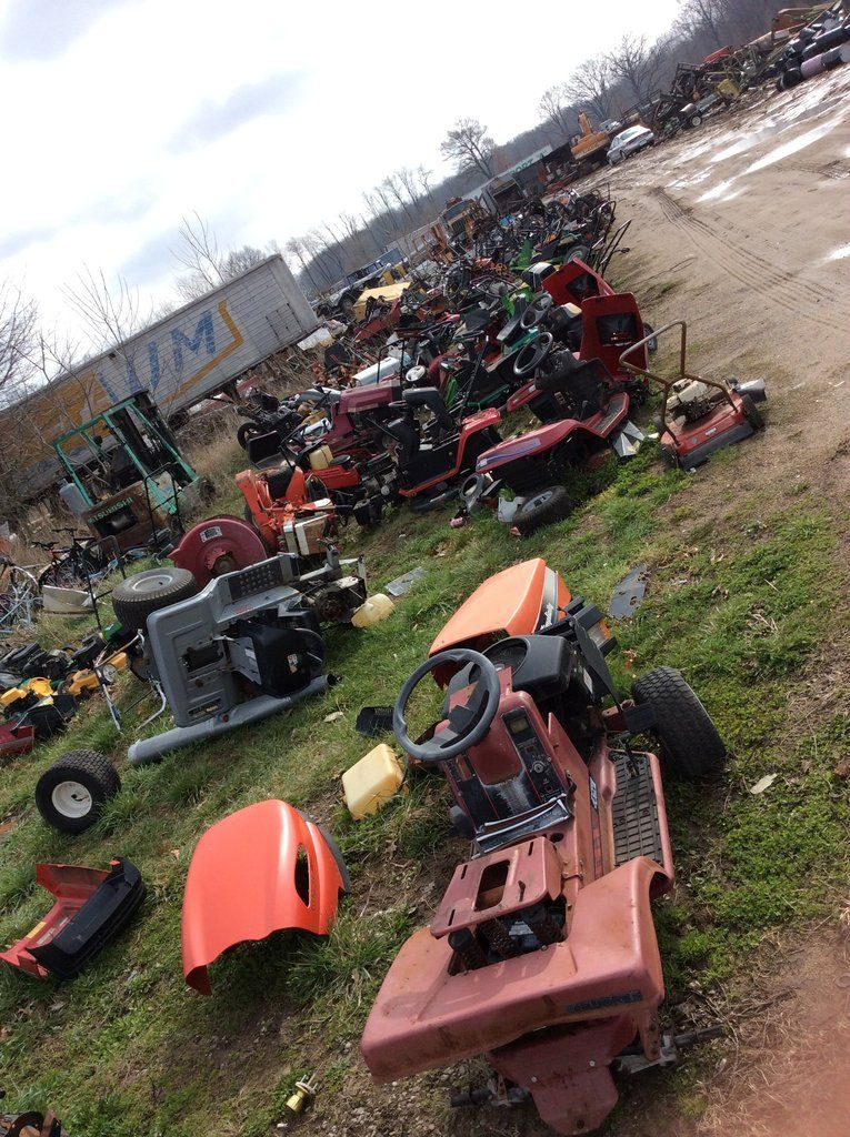 Lawn mower parts (With images) Garden tractor
