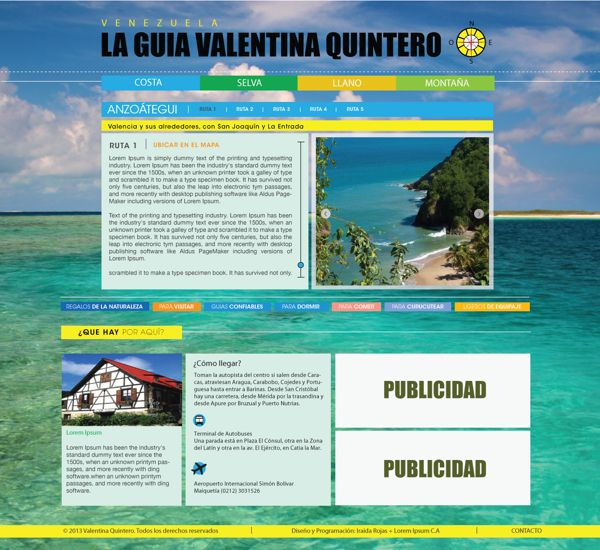 Diseño de páginas web on Behance