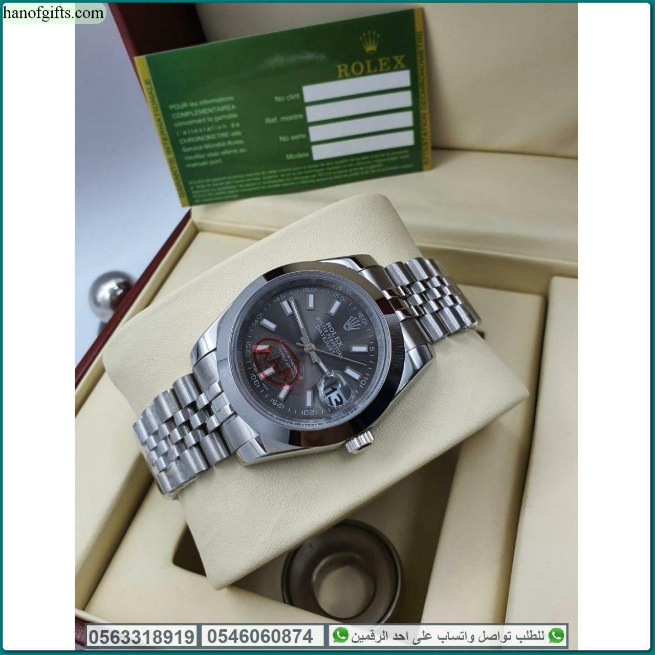 ساعات رولكس رجالي Rolex درجه اولى مع علبه الماركه هدايا هنوف Casio Watch Casio Watches