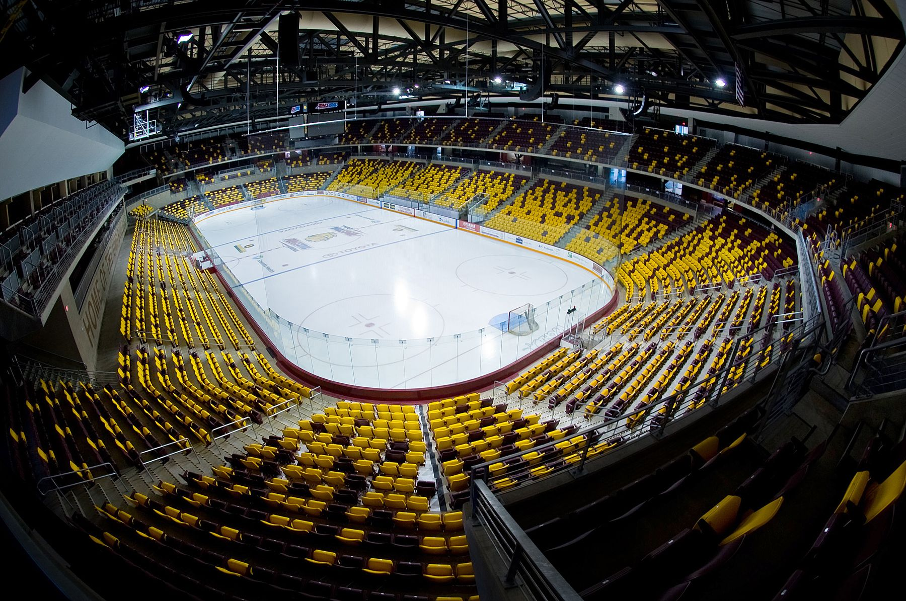 Amsoil Arena Arena View Amsoil Arena Opened In 2010 And Seats