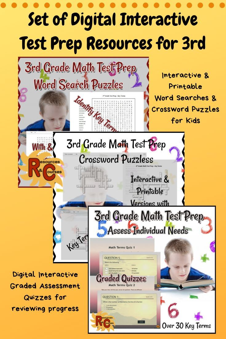 Looking For Something Different For Math Test Prep For Third Grade  Then This Resource Set Is