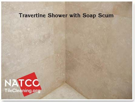 How To Clean And Seal A Travertine Tile Shower For The