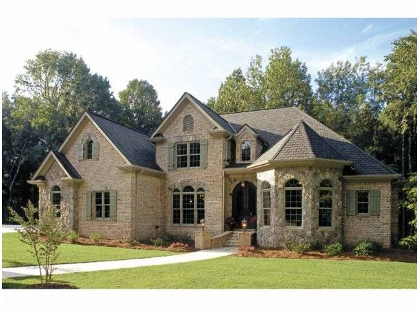 French Country House Plan with 3618 Square Feet and 5 Bedroomss