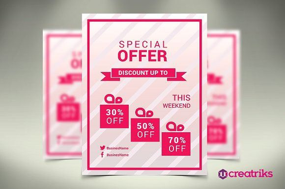 Special Offer Flyer Photoshop And Template