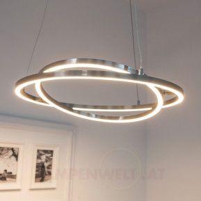 LED Hängeleuchte Lovisa mit zwei LED Ringen | Led
