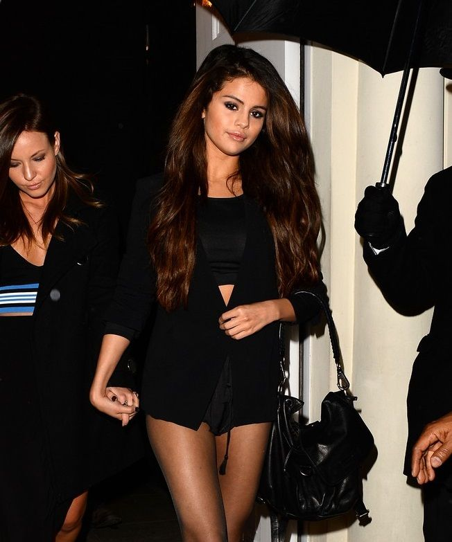 Selena Gomez Shows Off Skimpy Outfit For Night Out In London