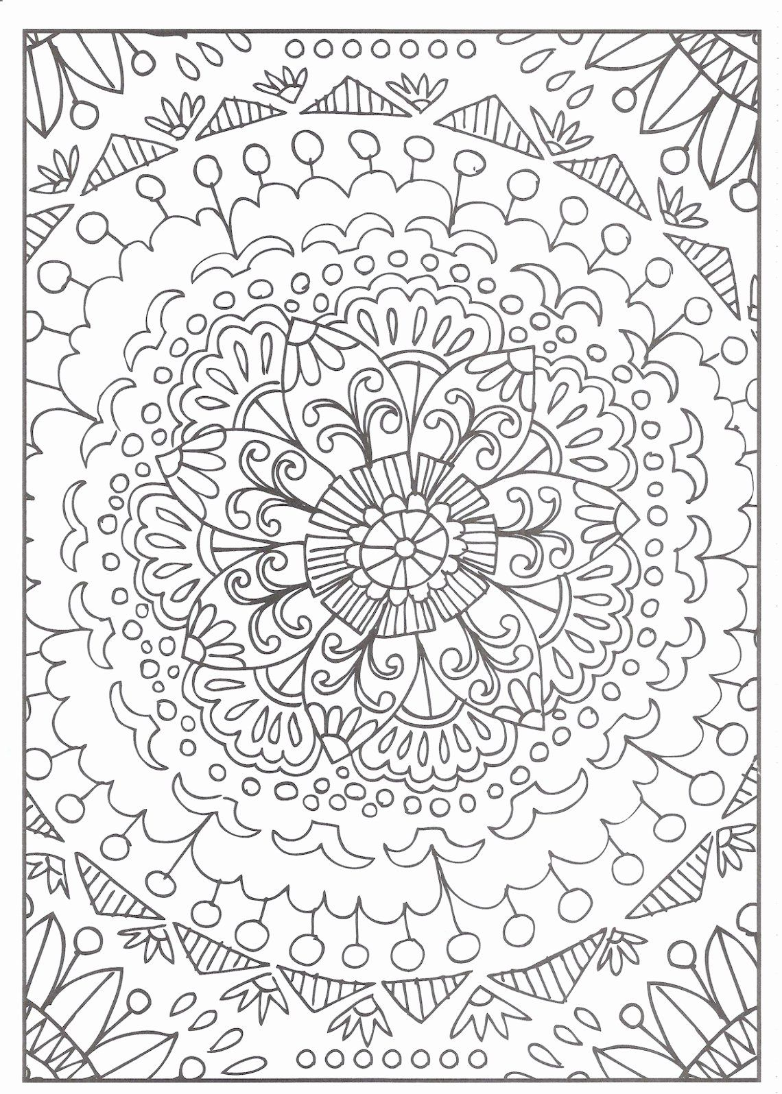 Coloring Tree Pages Inspirational Awesome Different Shapes