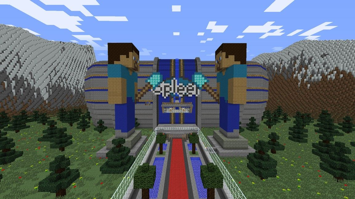 Spleef is one of the most popular Minecraft Mini games and