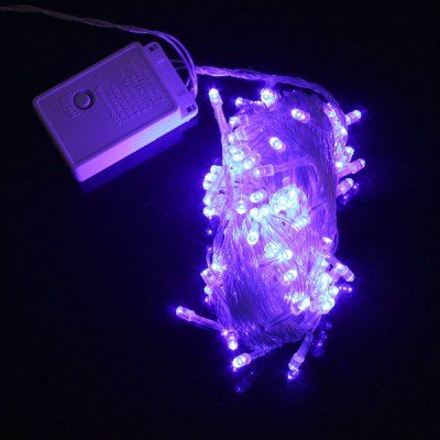 $4.76 (Buy here: http://appdeal.ru/a89c ) 10M 9.6W 100 Blue Light LED String Lamp for Christmas Festival Outdoor Activities / Wedding ( 220V EU Plug ) for just $4.76