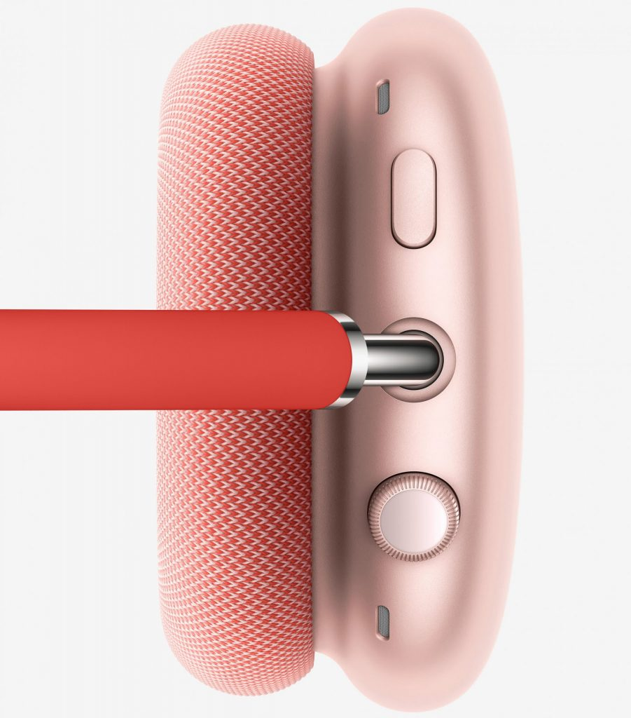 Apple Announces Its First Over The Ear Headset Airpods Max 4 In Ear Headphones Noise Cancelling Headphones Design