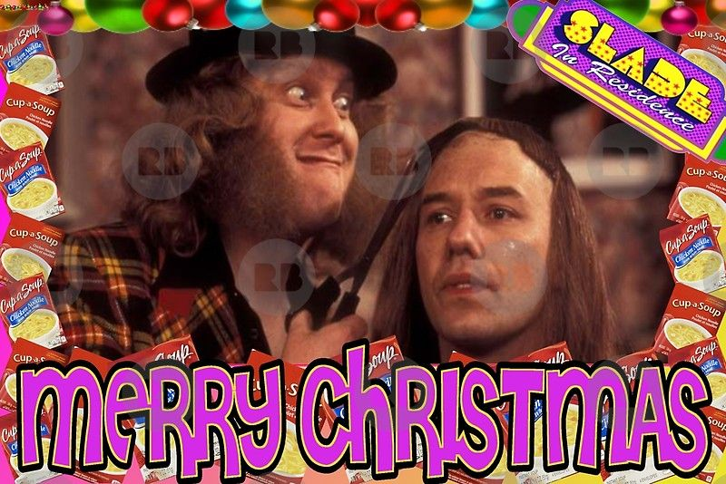 Slade Vic Reeves Christmas Vic Reeves Christmas Greeting Cards Christmas Greetings