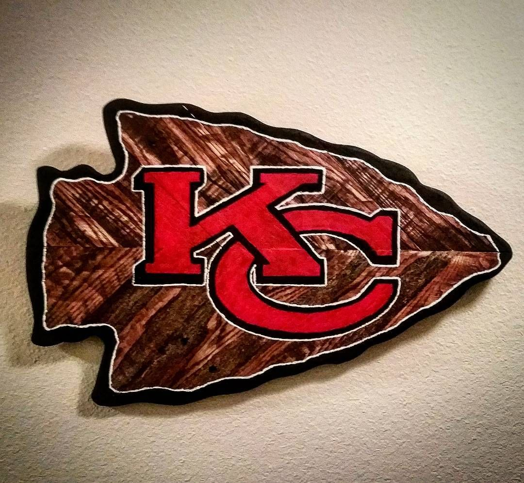 I Just Spent 3 Hours Hand Painting This Beauty If I Was A Chiefs Fan I Might Have Just Kansas City Chiefs Logo Kansas City Chiefs Kansas City Chiefs Football