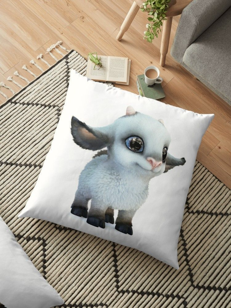 Cartoon Sheep by alina3art Cute fluffy sheep with big blue eyes. 3d cartoon small lamb with big ears stands on the floor. #сute | big fluffy floor pillow | big fluffy floor pillow | big fluffy floor pillow | fluffy pillow big #floorpillow #homedecor #3D #fantasy #design #digitalart #character #cartoon #stylized #print #kawaii #bigeyes #fairytale #sheep #farm #fluffy #fun #happy #small #smiling #cheerful #concept #creature #pet #adorable #toy #lamb #printshop