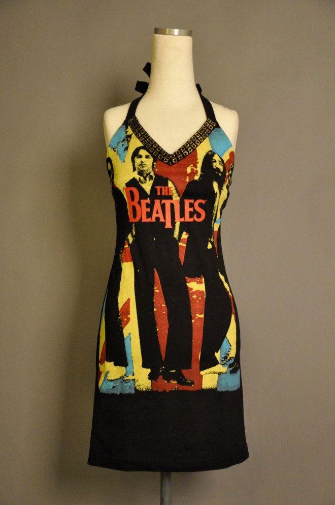 e8a0374a603 The Beatles Dress via Etsy.