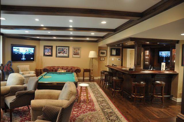 Recreation room ideas, designs, decor, DIY, for office, games