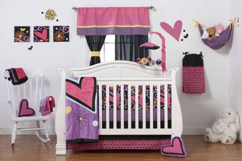 One Grace Place Sassy Shaylee 8-Pc Crib Bedding Set $177.33 from bedding.com #onegraceplace #cribset
