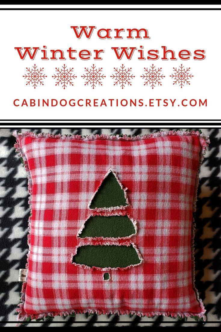 Warm Winter Wishes Reverse Applique Christmas Tree