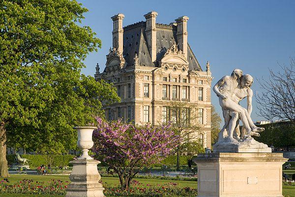 Jardin Des Tuileries - Paris Print by Brian Jannsen
