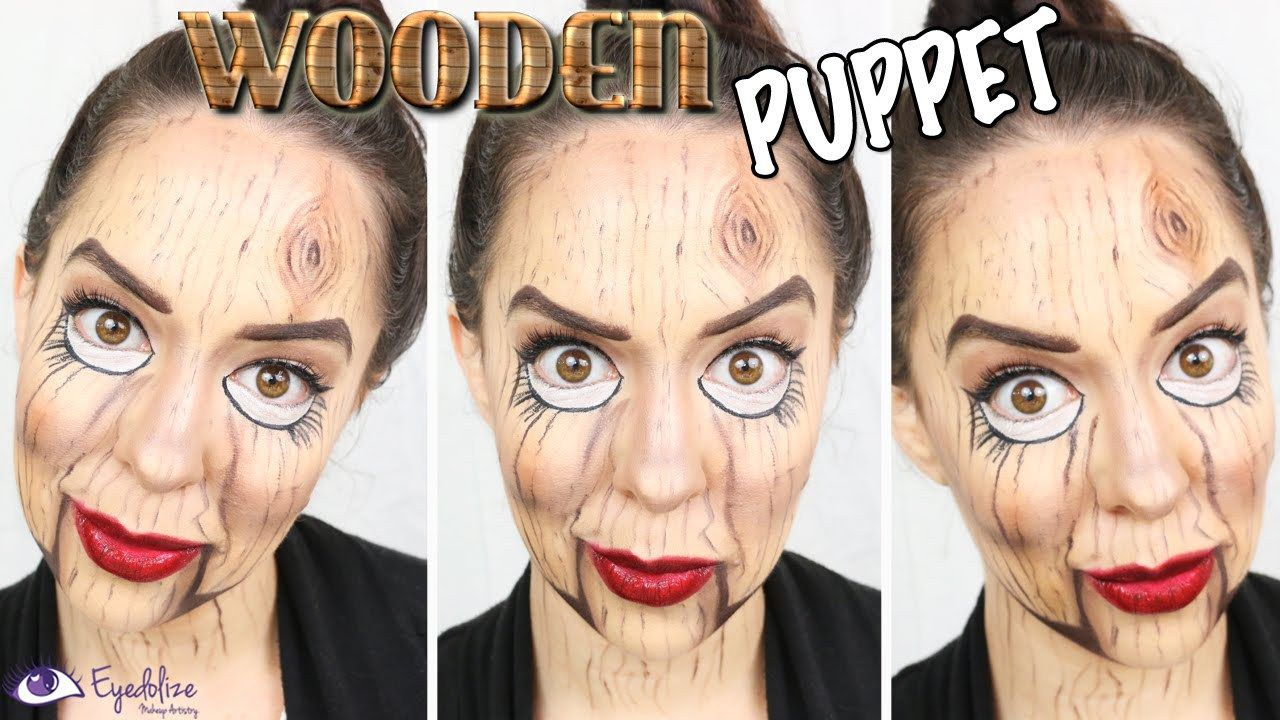 wood creature halloween makeup tutorialeyedolizemakeup | viral