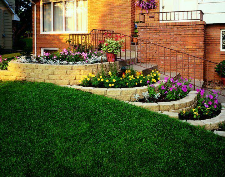 Best Back Yard Diy Garden Stairs Hardscape Sloped Yard 400 x 300